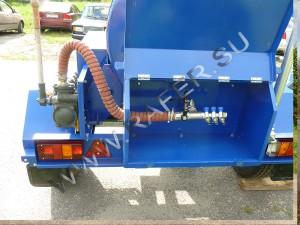 Прицеп-цистерны 450 литров. МЧС