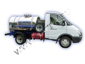 Авто-цистерна_молоковоз_для транспортировки_молока_воды_кваса_Газель-3302_Шатура_автобочка