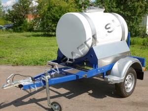 Прицеп-цистерна (авто бочка, молочная бочка, квасная бочка). 500 литров.