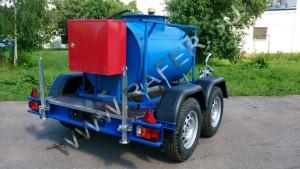 Прицеп топливозаправщик 950 литров дизельное топливо и ГСМ