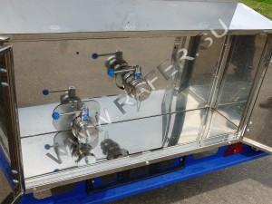 Раздаточный ящик прицеп-цистерны. Молочный кран.