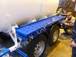 Прицеп-цистерна 2300 литров. Сборка.