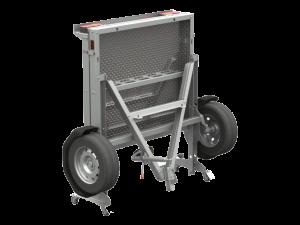 Прицеп Rafer - складной. Предназначен для перевозки техники (мотоцикла, квадрацикла) и грузов массой до 550 кг.