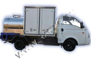 Автоцистерна комбинированная на шасси Hyundai Porter2