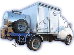 ГАЗель-33021_Авто-цистерна_фургон_гибрид_для транспортировки_молока_для торговли