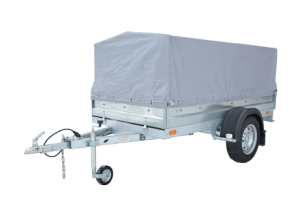 Прицеп легковой, с тентом, стаднарт, Rafer, автоприцеп, до 750 кг.,для перевозки грузов