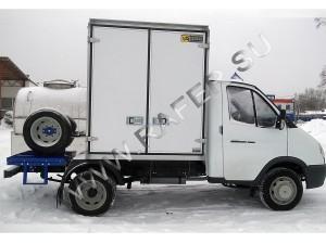 Автоцистерна ГАЗель. Комбинированная (цистерна с фургоном)