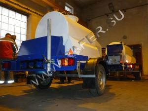 Прицеп-цистерна с охлаждением (450 литров)