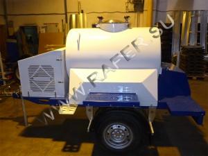 Прицеп-цистерна 450 литров с охлаждающей установкой