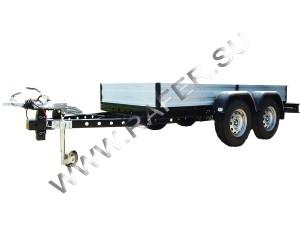 Прицеп автомобильный, автоприцеп ПГЦ-3, бортовой, полная масса до 3,5 тонн, 3500 кг, Рафер, Технотерра, Шатура, Керва, автоприцеп, лёгкий, легковой, для перевозки, транспортировки, от производителя, продажа, купить, заказать, цена