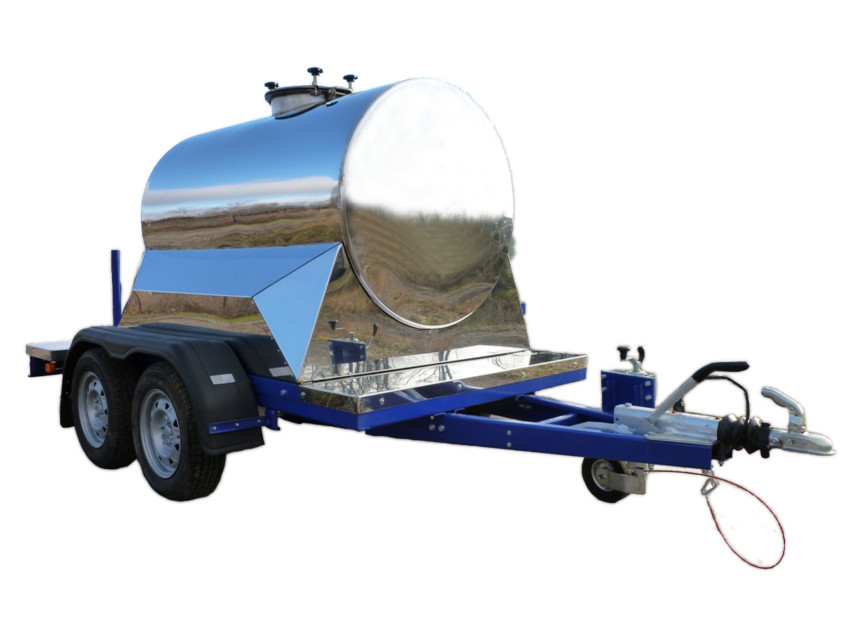 Изотермические прицеп цистерны пищевые. 1150 литров.