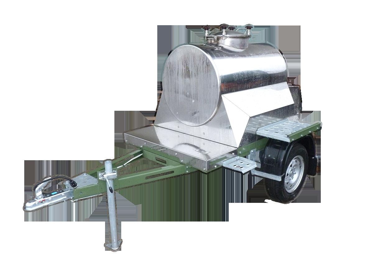 Изотермические прицеп цистерны пищевые. 300 литров.