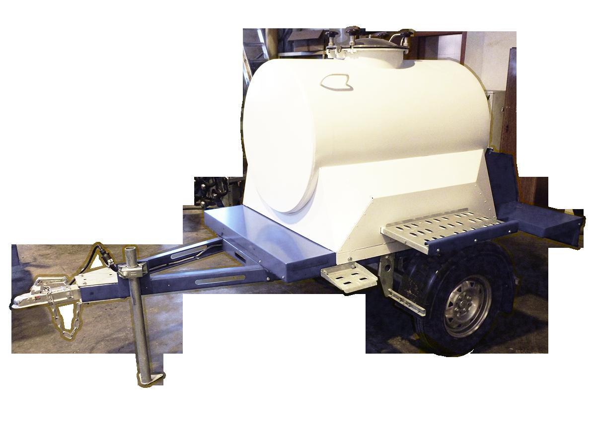 Изотермические прицеп цистерны пищевые. 450 литров.