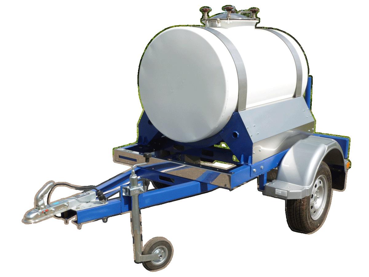 Изотермические прицеп цистерны пищевые. 500 литров.