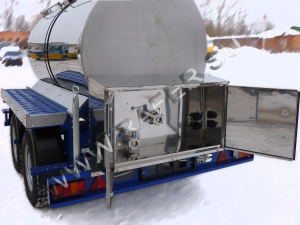 Изотермические прицеп цистерны пищевые. 2300 литров.
