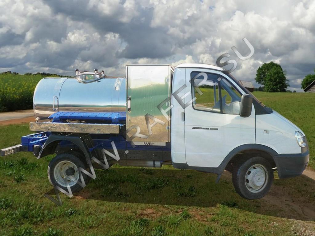 Автоцистерна  ГАЗ - RAFER