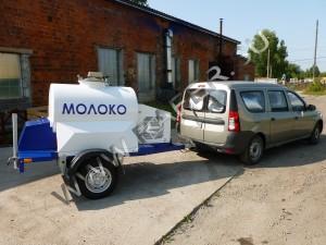 Прицеп-цистерна 450 литров с охлаждающей установкой. Молоко.