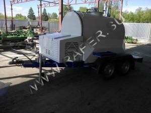 Прицеп цистерна 1150 литров с охлаждающей установкой
