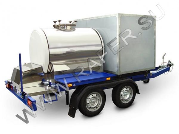 Прицеп-цистерна, комбинированная цистерна, цистерна гибрид, авто бочка, автобочка, молочная бочка, бочка молока, квасная бочка, бочка кваса, литров, пищевая цистерна, из нержавеющая сталь, нержавейка, емкость для перевозки, хранения, реализации, торговли, молока, кваса, воды, пиво, цистерна с охлаждением, охлаждающая установка, охлаждающей установкой, танк охладитель, плоский испаритель, обогрев цистерны, обогрев крана, производитель, от производителя, цистерна в кузов, продажа, купить, заказать, цена, стоимость, Рафер, Rafer, Танко, Tanko, Технотерра, Шатура, Керва