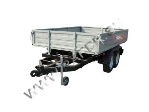 Прицеп рамный_бортовой_rafer_для перевозки крупных грузов