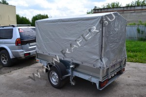 Прицеп - складной, Rafer, Рафер, Танко, для мототехники. Предназначен для перевозки техники (мотоцикла, квадрацикла) и грузов массой до 550 кг.